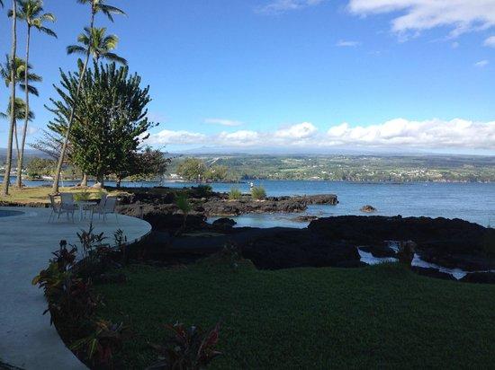 Hilo Naniloa Hotel : Ocean view