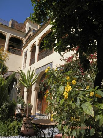 Ryad Salama Fes: Our Balcony