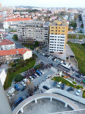 Holiday Inn Porto Gaia : Blick über die Stadt