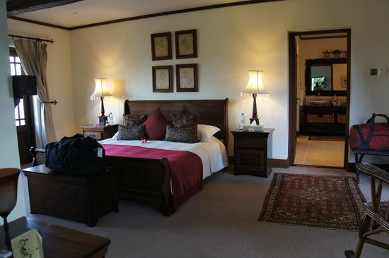 The Manor at Ngorongoro : The bedroom of the suite