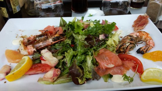 No Stress Cafe : Salade gourmande