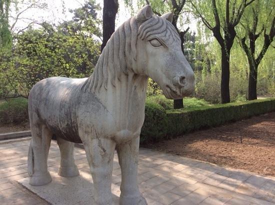Ming Tombs (Ming Shishan Ling): horse