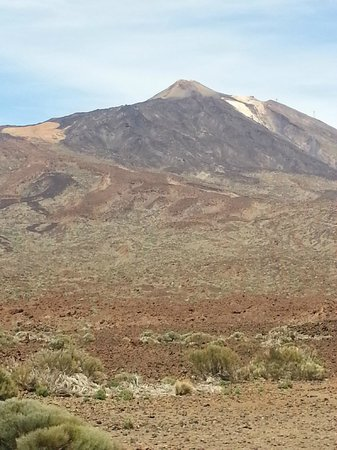 HOVIMA Santa Maria: Peak of mount Teide (highest volcano in Europe)