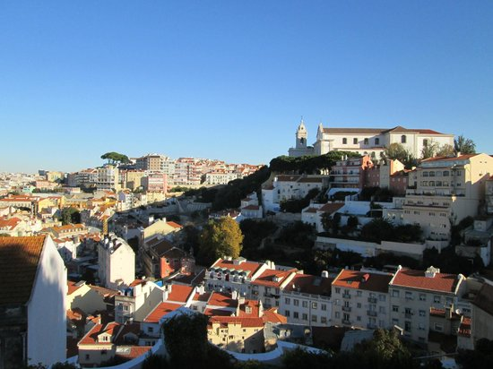 Olissippo Castelo: Ausblick
