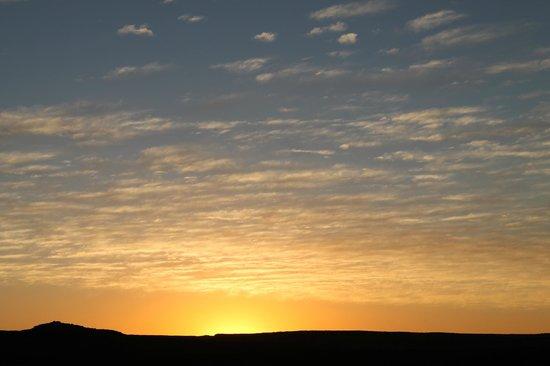 Papkuilsfontein Guest Farm: Sunset