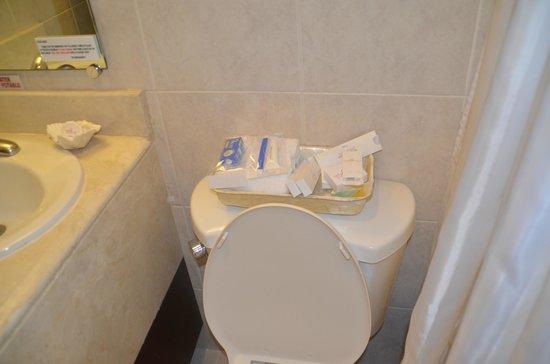 Royal Bellagio Hotel : bathroom toiletries