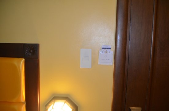 Royal Bellagio Hotel : electronic key to the room