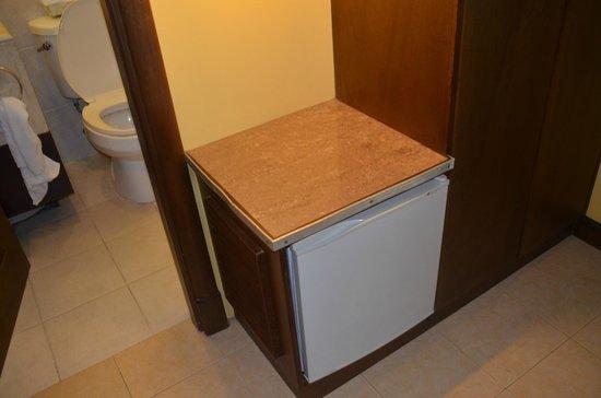 Royal Bellagio Hotel : in room fridge