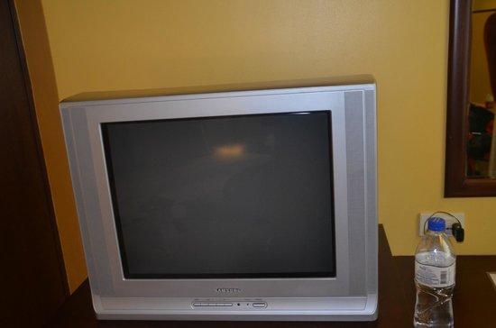 Royal Bellagio Hotel: TV in room