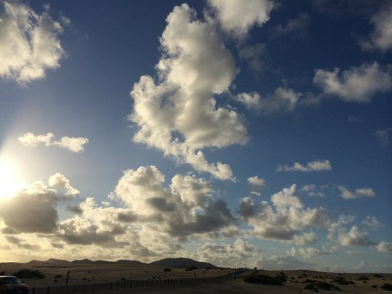 Parque Natural de Corralejo: The dunes
