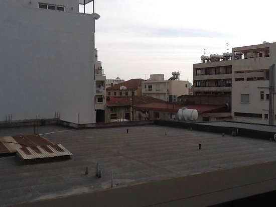 Achilleos City Hotel: View from balcony