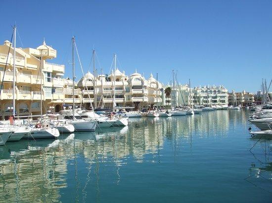 Benalmadena Puerto Marina : our initial view