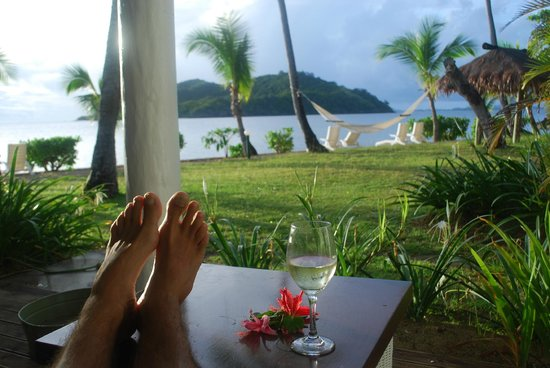 Malolo Island Resort bure view