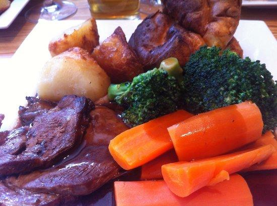 The Bull: Lamb roast
