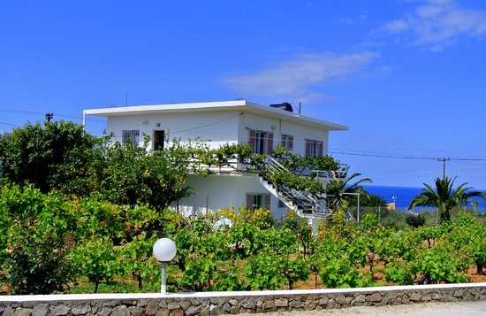 Villas Michalis: Our villa. We stayed on the top floor and the views were amazing.