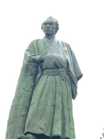 Ryoma Sakamoto Bronze Statue: 坂本龍馬像