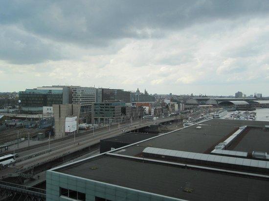 Mövenpick Hotel Amsterdam City Centre : vue de la ville