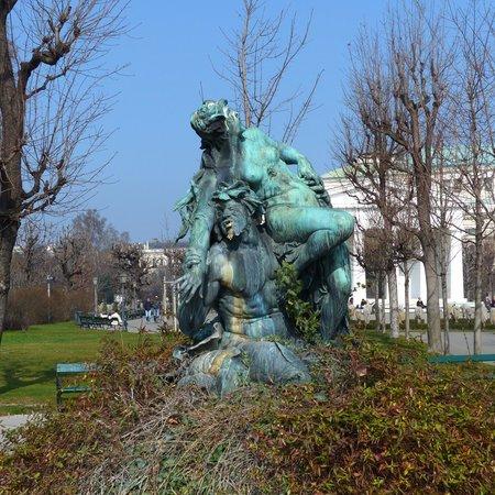 Fountains at Volksgarten