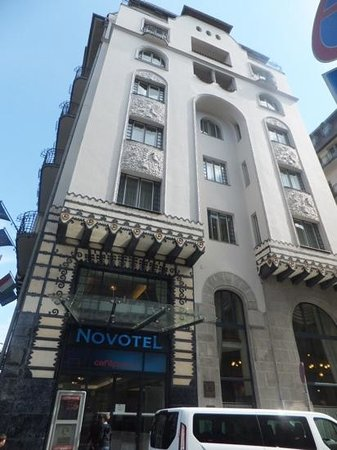 Novotel Budapest Centrum: typical of much of the architecture
