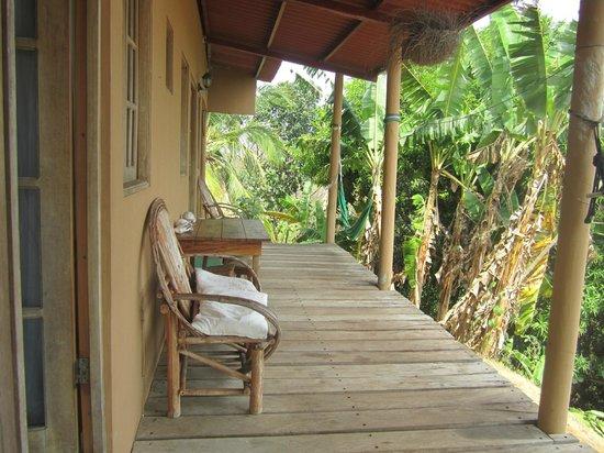 Hotel Sol y Mar : Veranda