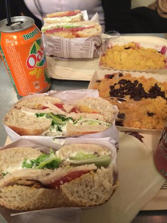 Photo of American Restaurant Bagelstein at 8 Rue Saint Lazare, Paris 75009, France
