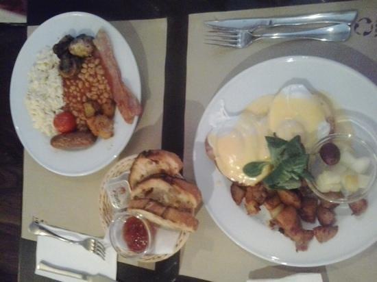 The Benedict - Brunch, Bistro, Bar: Eggs Benedict and English breakfast