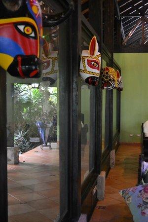 Rio Celeste Hideaway Hotel: Beautiful Decor