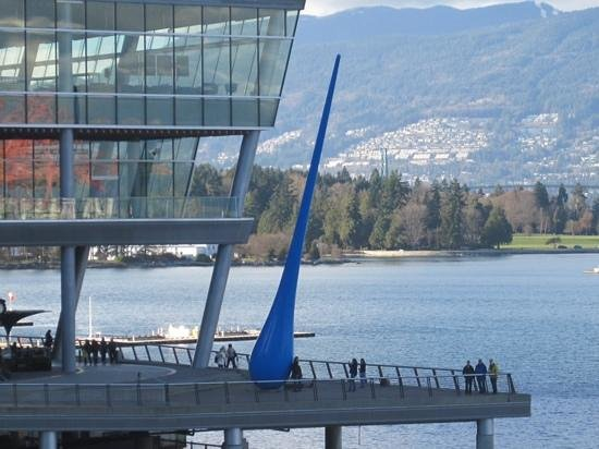 Canada Place: The Blue Bulb