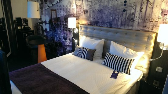 Radisson Blu Riverside Hotel, Gothenburg: Confortable bed