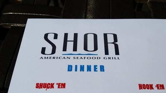 Shor American Seafood Grill : Shor