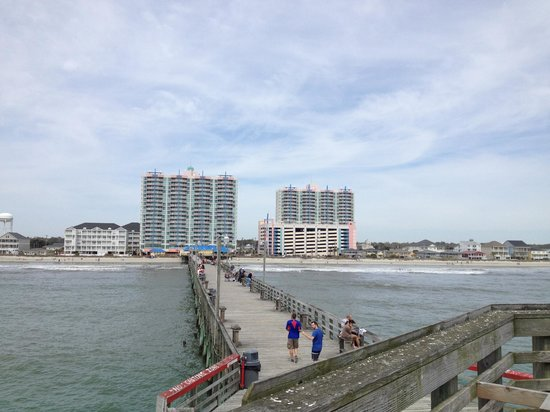 The Prince Resort: View From Cherry Grove Pier - Daytime