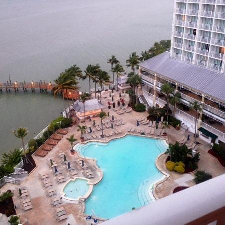 Sanibel Harbour Marriott Resort & Spa : one of the views from our room!