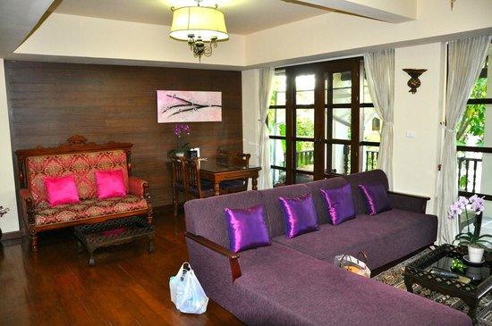 Shewe Wana Boutique Resort and Spa: Wohnzimmer
