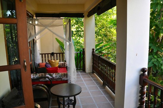 Shewe Wana Boutique Resort and Spa: Balkon