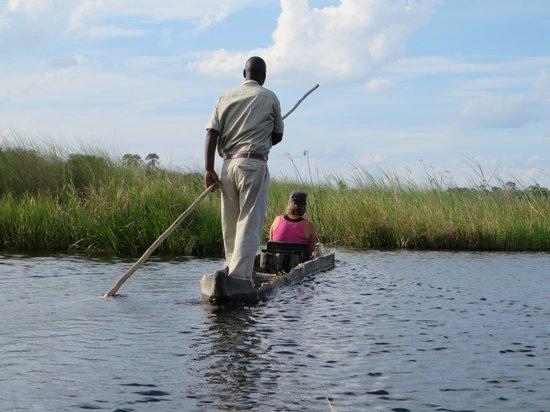 Delta Camp: Unterwegs im Mokoro