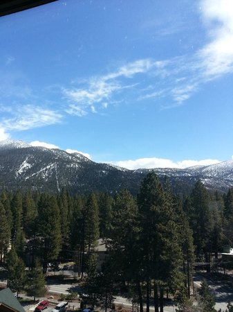 Hyatt Regency Lake Tahoe Resort, Spa and Casino: Our view from Junior Suite- also had a slight view of lake!