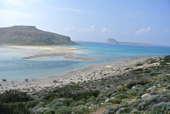 Kissamos, Yunani: The beach... paradise!