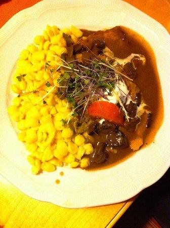 Restaurant Wolf: Национальное блюдо Баварской кухни