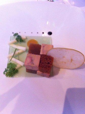 Château Hôtel Grand Barrail : Foie Gras Starter