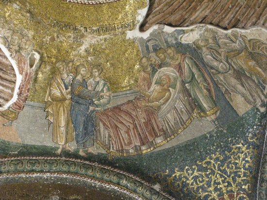 Museum Chora-Kirche: mosaico