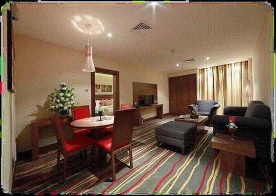 Al Khaleej Palace Hotel : Dining Area
