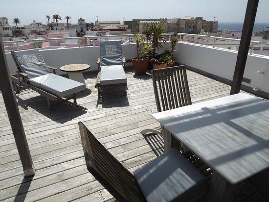 Hotel Misiana: Suite terrace