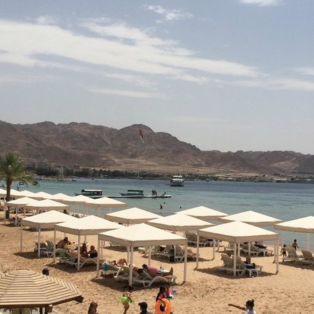 InterContinental Aqaba Resort: Beach Area