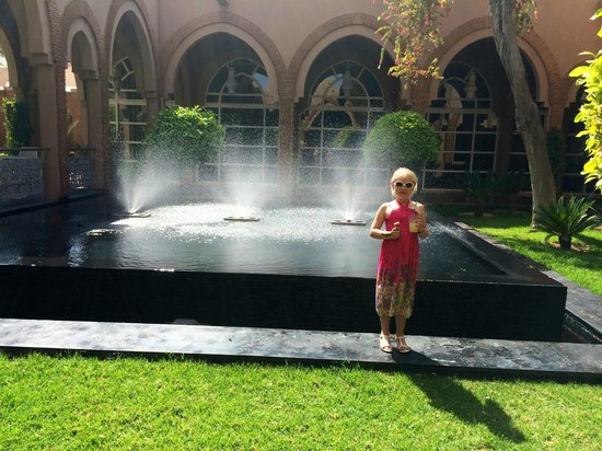Pullman Marrakech Palmeraie Resort and Spa : Beautiful garden