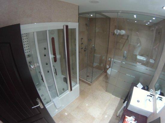 Salles Hotel La Caminera Golf & Spa Resort: Baño