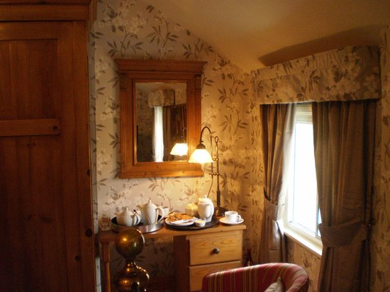Pontdolgoch, UK: Pretty room