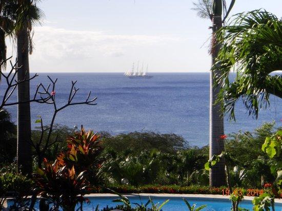 Hotel Au 'Ti Sucrier : Vue du bungalow