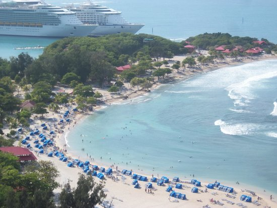 View From Top Of Zipline Platform Picture Of Labadee Haiti Tripadvisor