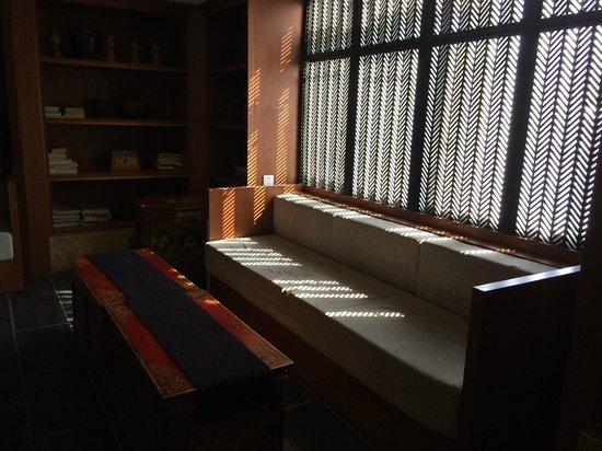 Lhasa Phuntsok Khasang International Youth Hostel: 前台