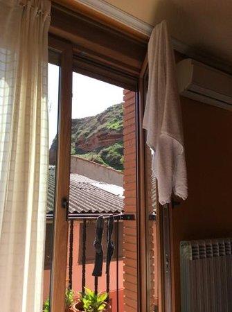 Hostal Ciudad de Najera: view from rm 12